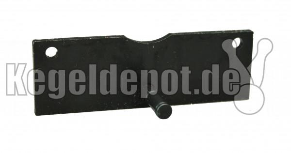 Lagerplatte mit Scheibe und Sicherungsring