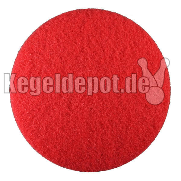 Super Padscheibe 410 mm Ø Farbe: rot