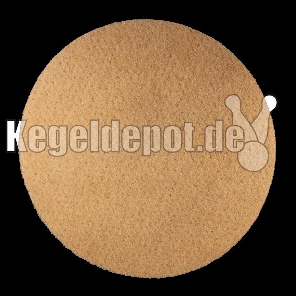 Super Padscheibe 410 mm Ø Farbe: beige / braun