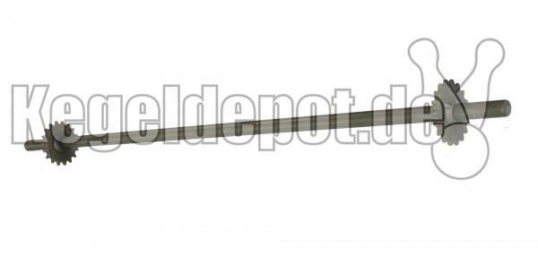 Achse vorne mit Kettenrad, für Kegelstellautomaten KSA10 7-1