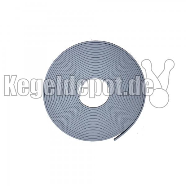 Rücklaufgummi 1 lfm Farbe: grau