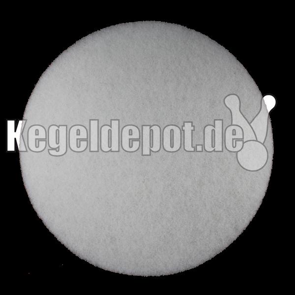Super Padscheibe 410 mm Ø Farbe: weiß